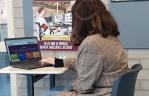 Anique kiest voor werkbezoek bij sportaanbieders tijdens Digimatch