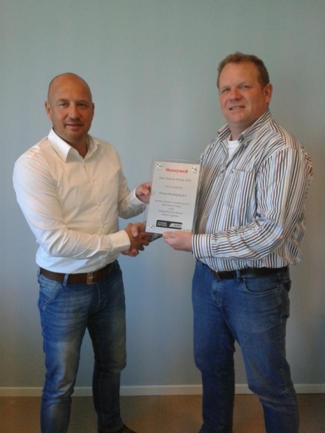 Homan beveiliging ontvangt Honeywell schild voor Channel Partnership