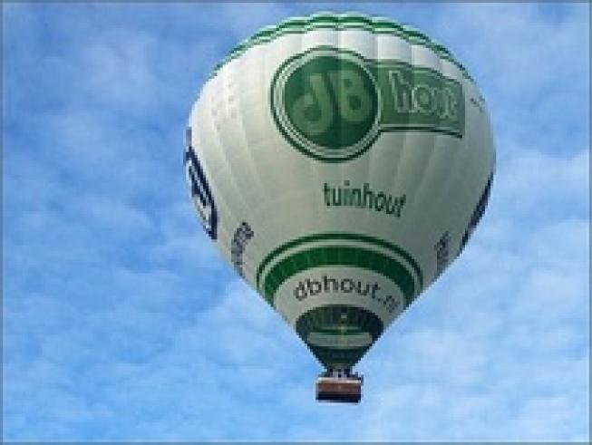 Winnaars veiling luchtballonvlucht hebben een behouden vaart gehad